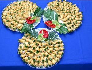 Seafood Cornettes 2